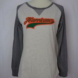 Ouray Womens Long Sleeve Top Size L Gray Green